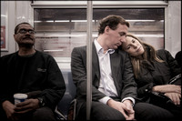 Subway Couples Supportive Lovers